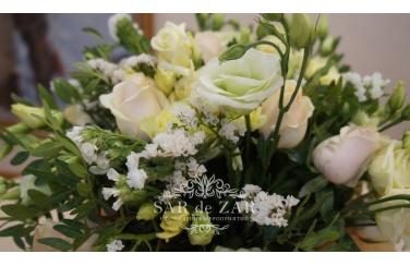 Красивое оформление цветами