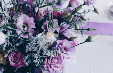 Свадебная флористика пример