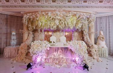 Свадебная флористика - оформление свадебного зала