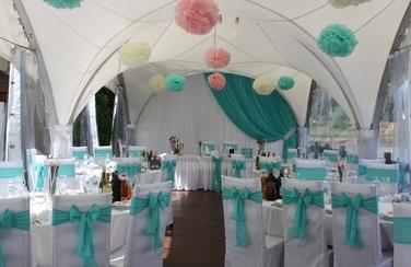 красивое оформление свадебного торжества