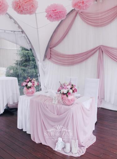 оформление шатра на свадьбу