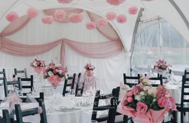 Свадебный декор для шатра