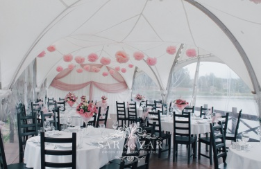 Оформитель шатра на свадьбу