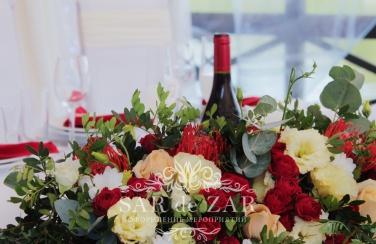 Бутылки для свадебного торжества