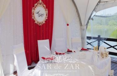 Аренда свадебного декора для шатра