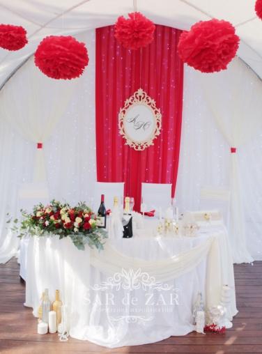 Оформить свадебный шатёр в Москве