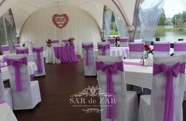 Свадебный декоратор для шатра