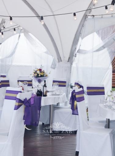 Свадебный декоратор для оформления шатра