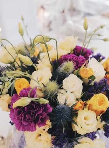 Как оформить свадьбу цветами - тенденции