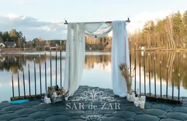 Красивая свадебна арка