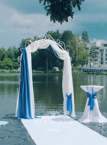 Дизайнерская свадебная арка в аренду от Сардезар